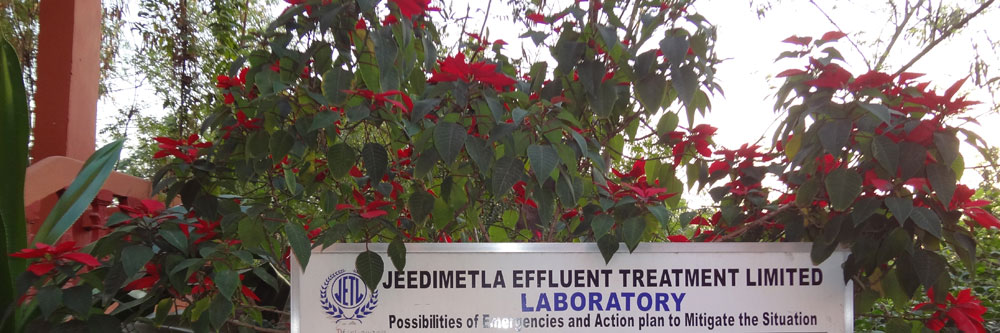 JETL : Jeedimetla Effluent Treatment Limited [JETL